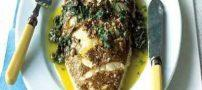 طرز تهیه ماهی قزا آلا با سس مرزه