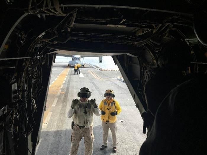 آشنایی با تکنولوژی  MV-22B در هلیکوپتر و هواپیما