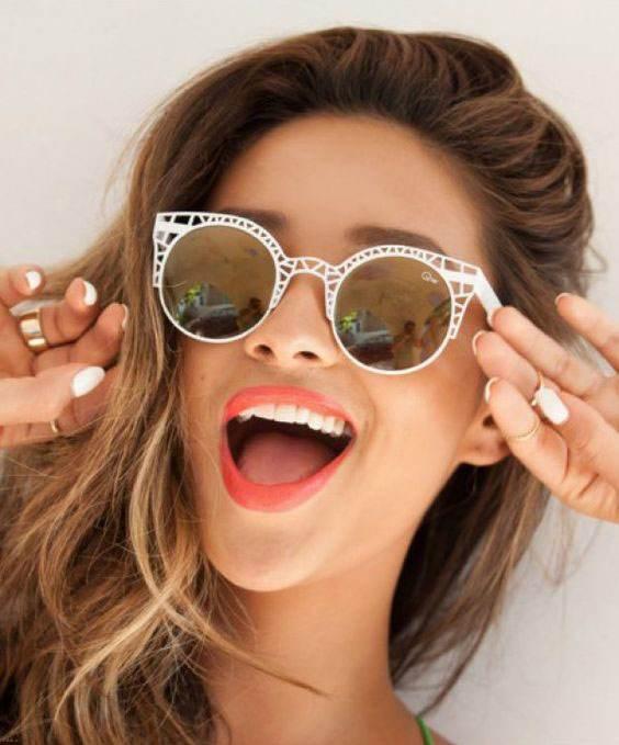 مدل های عینک زنانه زیبا مد سال 2017 انواع مدل های لوکس عینک های زنانه 2017