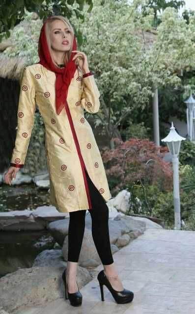 انواع مانتو های ایرانی ویژه نوروز96