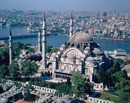 آشنایی با مساجد مجلل در استانبول ترکیه