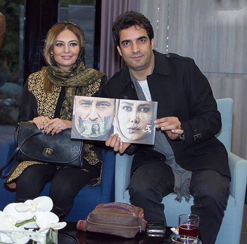 تصاویری از یکتا ناصر و همسرش در خانه نمایش
