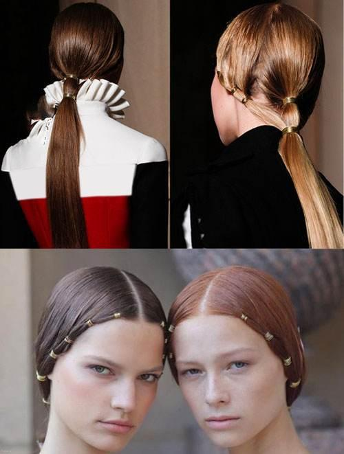 انواع مدل های مو به سبک دختران یونانی در سال 2017