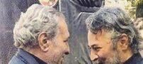 عکس دردناک دو بازیگر مرحوم سینما در آغوش هم
