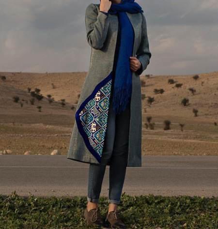 معرفی مانتوهای روشن زنانه بهاره 2017
