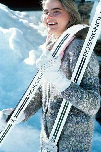 تصاویری از هنرمندان سلبریتی در هنگام ورزش اسکی