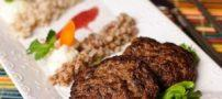 طرز تهیه شامی کباب و اضافه کردن سس انار