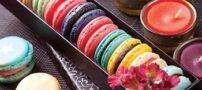 آموزش تهیه شیرینی ماکارون با رنگ های گوناگون