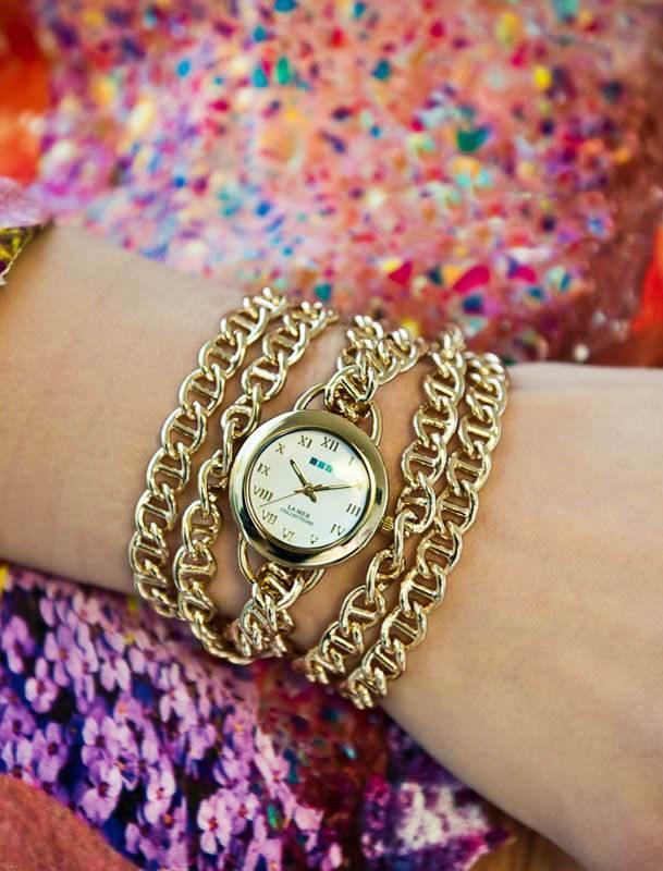 انواع مدل ساعت مچی های زنانه لوکس برند Lamer