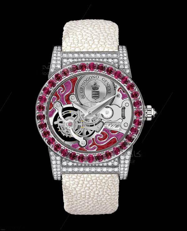 جدیدترین ساعت های مچی مخصوص زنانه در برند De Grisogono