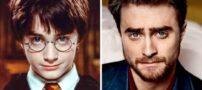 عکس هایی جالب از قبل و بعد مجموعه سریال هری پاتر