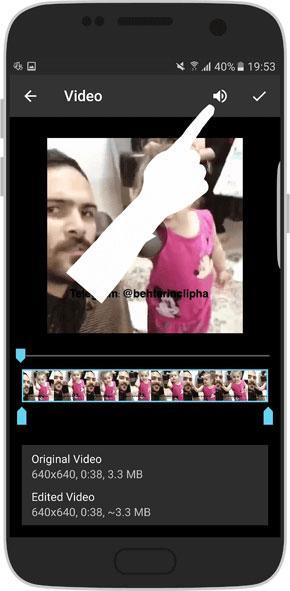 آموزش ارسال فیلم به صورت گیف در تلگرام اندروید + عکس