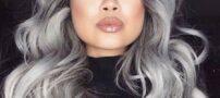 مدل مو و فرمول رنگ موی خاکستری