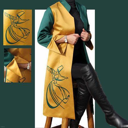 گلچین از جدیدترین مدل های مانتو به رنگ سال 99