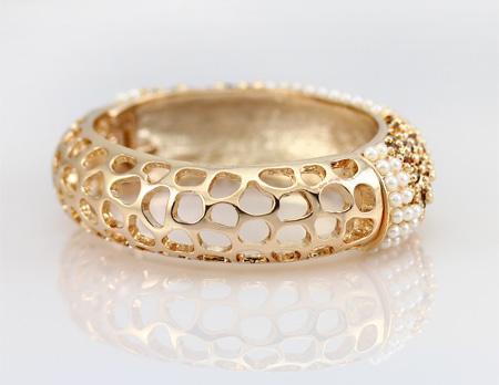 انواع مدل های جدید از دستبند طلای خاص روز اروپا 2017