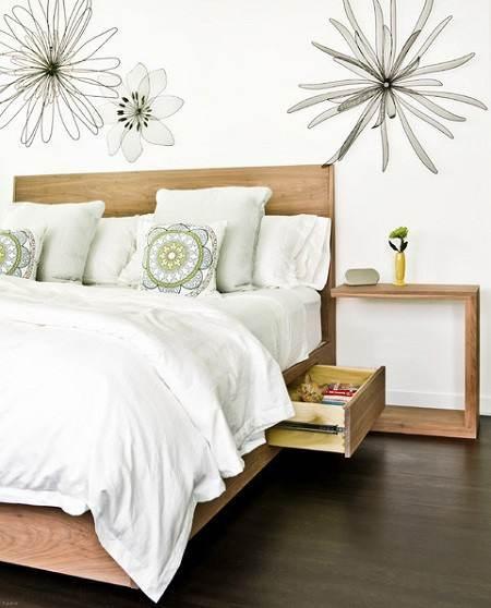 ایده های جالب برای بزرگتر نشان دادن اتاق خواب