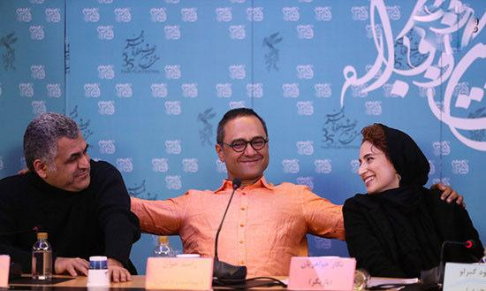 عکس های حاشیه ای سومین روز جشنواره فیلم فجر