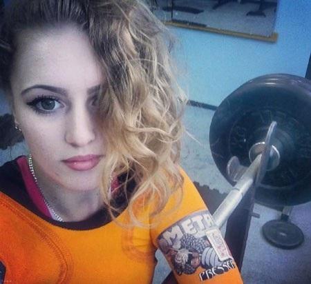 آشنایی با دختران قوی و بدنساز در روسیه + عکس
