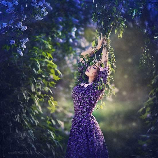 عکس های گوناگون از دختران زیبا روسی به سبک های خاص