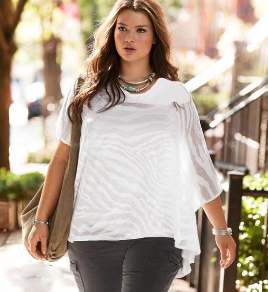 تارا لین مدلینگ زیبا و چاق بریتانیایی (عکس)