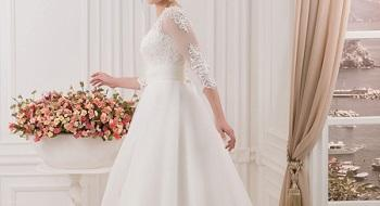 مدل های جدید لباس عروس طرح آستین دار