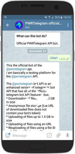 روش دانلود فایل با با لینک مستقیم از تلگرام