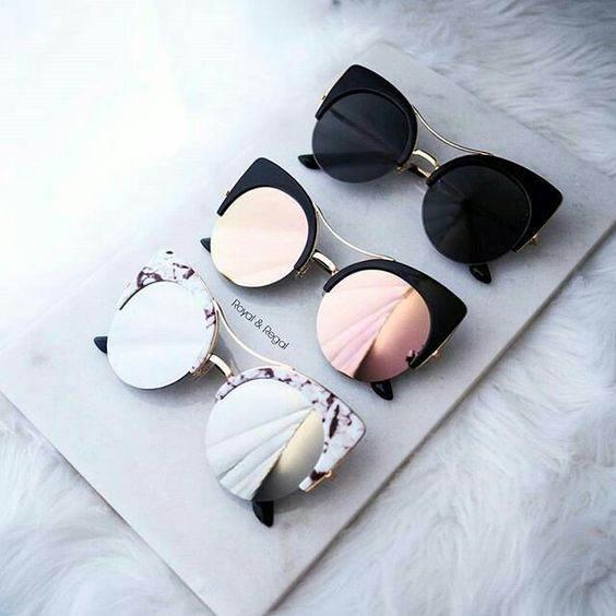 انواع عینک های زنانه گربه ای لاکچری محصول 2017