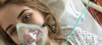 کار مناسب و جالب از دختر جذابی قبل سرطان و مرگش