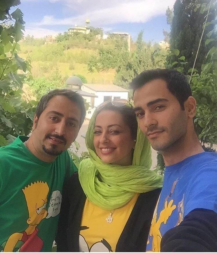 تصاویر هنرمندان ایرانی به همراه خانواده هایشان
