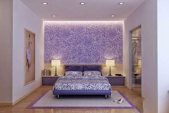 در دکوراسیون خانه تان از رنگ یاسی استفاده کنید !