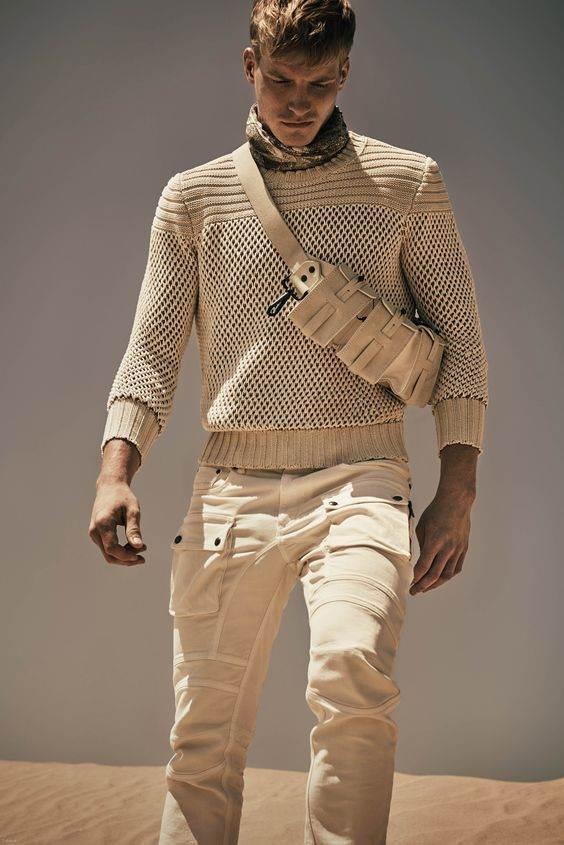 جذاب ترین مدل های شلوار شیک مردانه در طرح armani