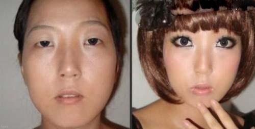 معجزه آرایش را برای دختران زشت ببینید