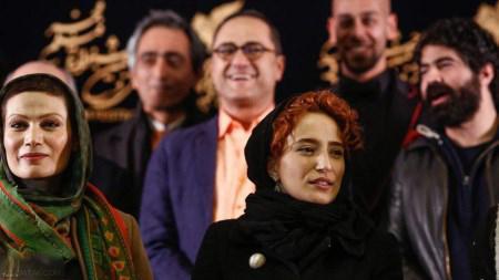 مدل موی عجیب نگار جواهریان در جشنواره فیلم فجر