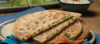 طرز تهیه پیتزا پیراشکی در طعم گیاهی خوش طعم