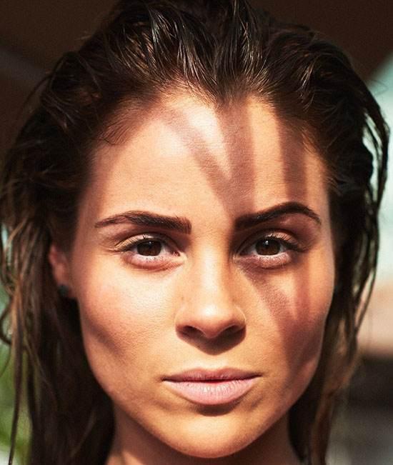 عکس های مدل های اروپا بدون آرایش صورت