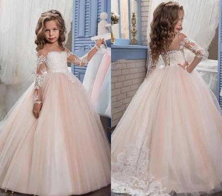 نمونه ای از زیبا ترین لباس مجلسی دخترانه