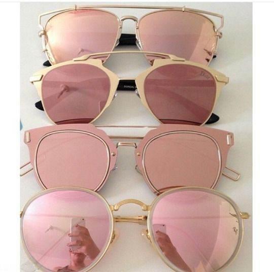 معرفی جدید ترین مدل های عینک آفتابی در برند رزگلد 2017