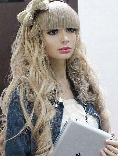 این دختر شبیه باربی ها خودش را کرده است (عکس)