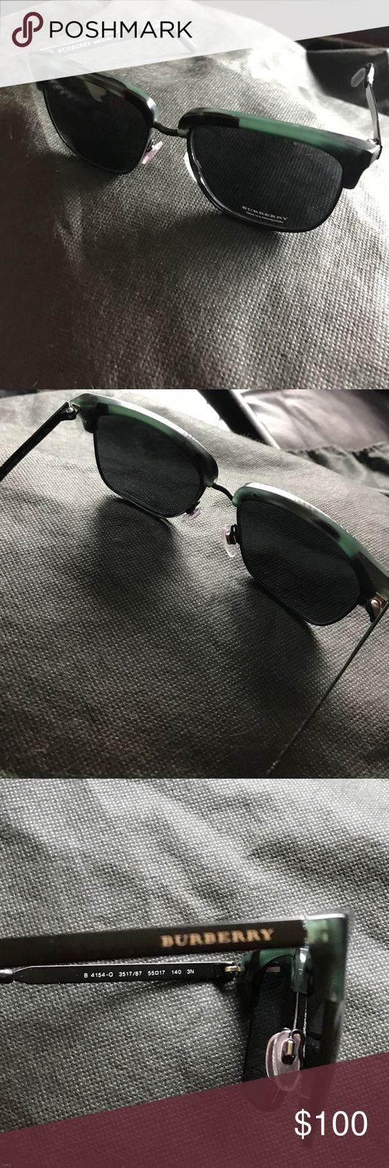 انواع مدل های عینک آفتابی در برند burberry محصول 2017