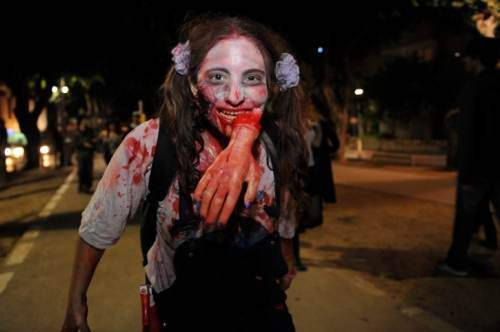 فستیوال عجیب و مختلط زامبی ها در اسرائیل