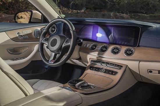 مشخصات و معرفی اتومبیل مرسدس بنز کوپه کلاس E