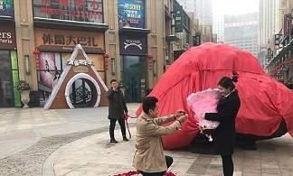 خواستگاری میلیونری و جالب مرد چینی از همسر آینده اش (+تصاویر)