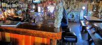 تصاویری جالب از رستوران اسکناسی در آلاسکا
