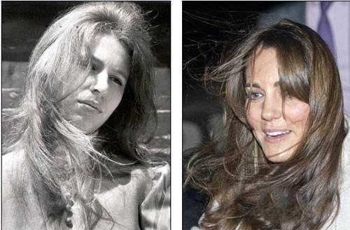 کیت مدیلتون از روی مدل موی پرنسس آلمانی کپی کرد (عکس)