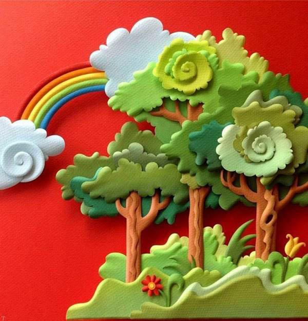 تصاویری از مدل های جالب کاردستی و هنر دست