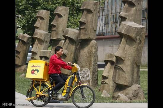 تصاویر های دیدنی از تقلید مکان های دیدنی جهان در چین