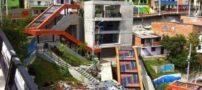 تصاویری دیدنی از کوه های مرتفع کلمبیا که مجهز به پله برقی هستند