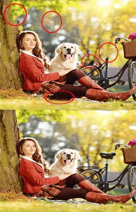 تست هوش فرق دو تصویر همراه با جواب