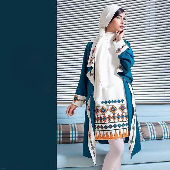 معرفی مدل مانتو ایرانی ویژه نوروز (39)