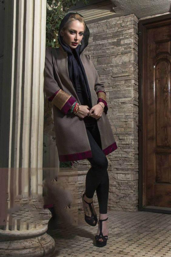 سری جدید مانتو های ایرانی و زیبای بهاری ویژه نوروز (44)